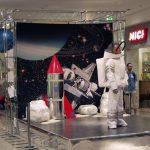 Tło scenografii do zabaw dla dzieci – Centrum Handlowe Galeria Krakowska