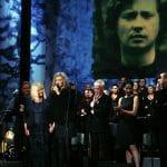 Tło i ekran do scenografii festiwalu muzyki Marka Grechuty w Krakowie