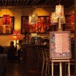 Plansza z menu – druk UV na pcv 5mm – kawiarnia TriBeCa