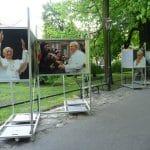 Plansze do wystawy poświęconej Janowi Pawłowi II – realizacja Expo Graphic