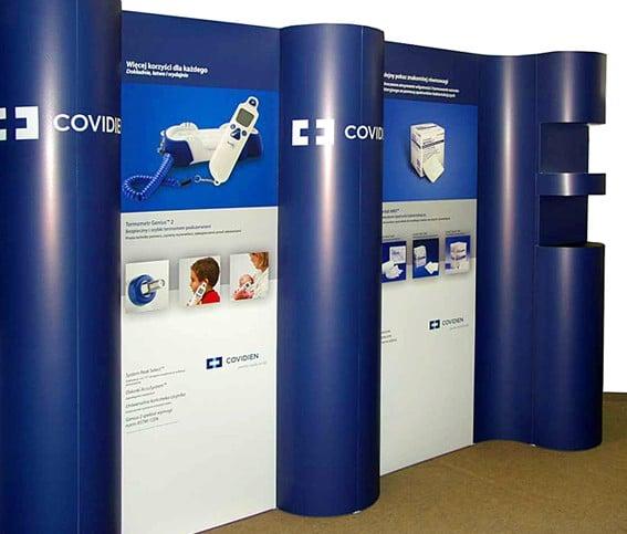 Stoisko Press dla firmy Covidien