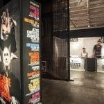 Elementy graficzne dla biura Festiwalu Boska Komedia 2012 w Bunkrze Sztuki (fot. Tomasz Wiech)