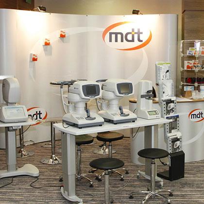 Ścianka magnetyczna i trybunka dla firmy MDT