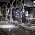 Wystawa 966 Chrzest oblicza chrystianizacji - Muzeum Archeologiczne w Krakowie, lipiec 2016. Plansze - druk UV i grafika podłogowa