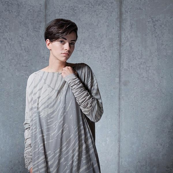 Kolekcja odzieży - tkaniny z drukiem sublimacyjnym - Anka Letycja Walicka - www.ankawalicka.com