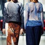 Druk tkanin do kolekcji odzieży - projekt: Magdalena Orzeł