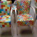 fotele znadrukiem